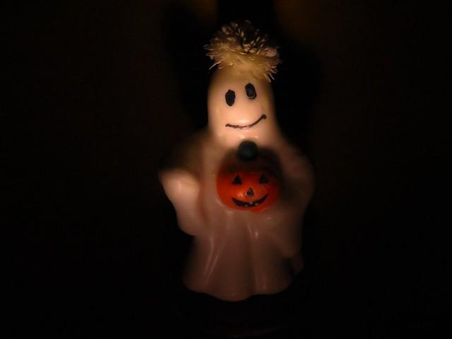 Friendly ghost-lady