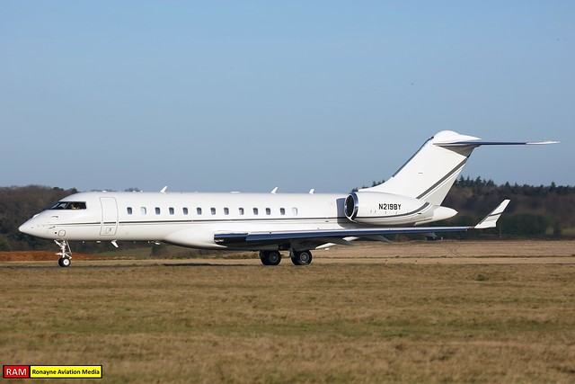 N219BY | Bombardier BD700 Global 6000 | Private