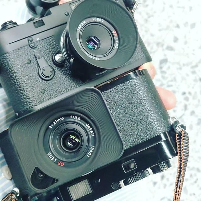 Ricoh GR 21mm f3.5 x Leica M9P CCD的質感
