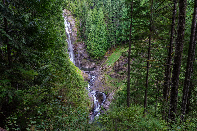 Middle Falls - Wallace Falls State Park