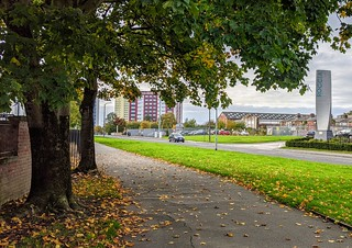 Autumn at Queen St in Preston | by Tony Worrall
