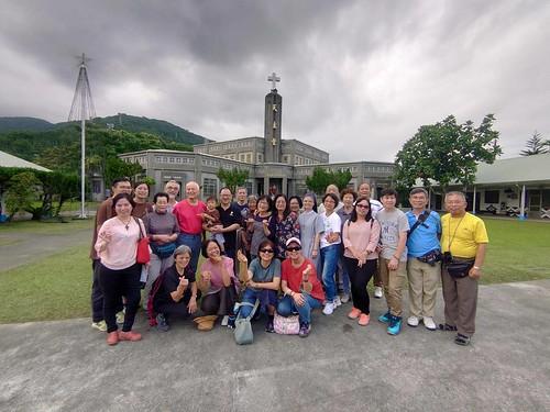 Niekoľkodňový outing s ľuďmi z rôznych farnosti v Hsinchu. Návšteva kostolov08