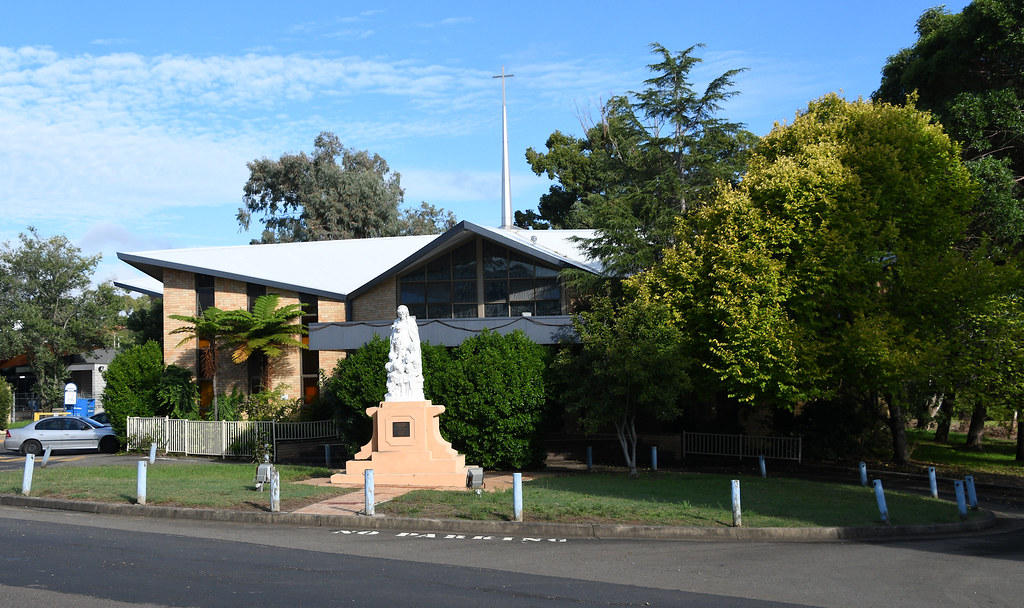Our Lady of Rosary Catholic Church. Kellyville, Sydney, NSW.
