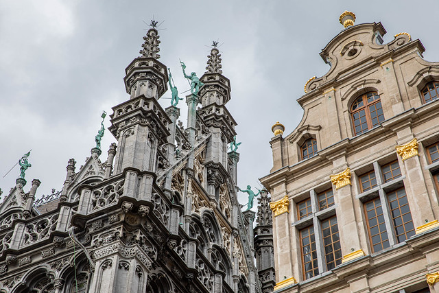 Grand Place Facades, Brussels
