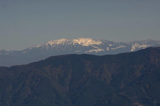 国見平からの立山連峰