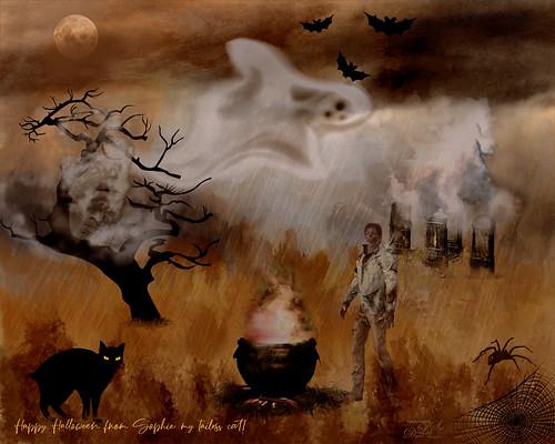 Image of a Halloween Scene
