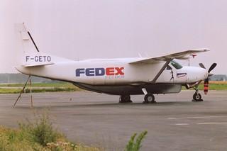 F-GETO Cessna 208B @ Lille 22-08-1991