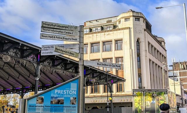 Signs in Preston