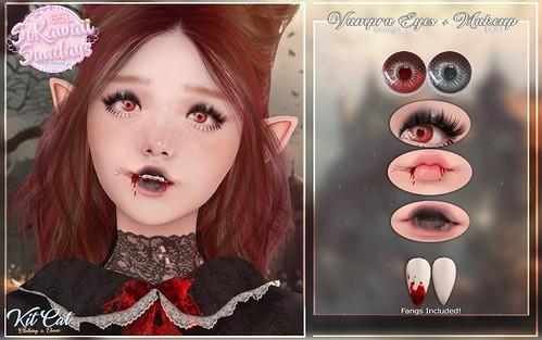 KitCat - Vampra Makeup + Eyes