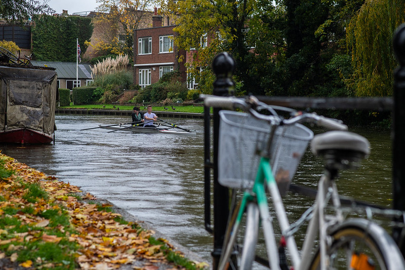 Rowing during autumn