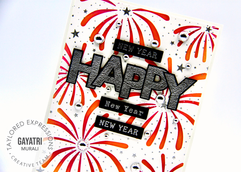New Year card #1 closeup1