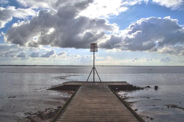 Scenic Lytham pier