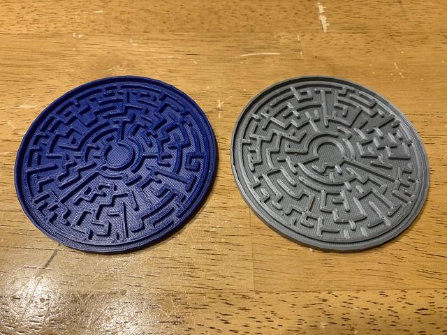 Maze Coasters