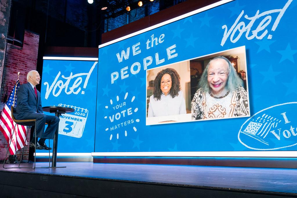 OWN Your Vote Event with Oprah - Wilmington, DE - October 28, 2020