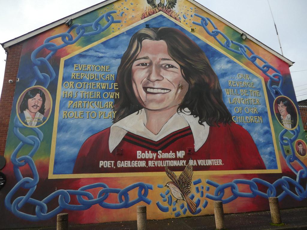 Mural of Bobby Sands, Belfast City Walls