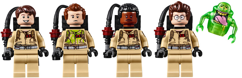 LEGO Ghostbusters Characters