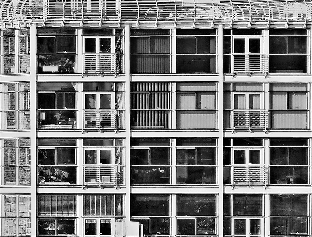 North Shields - Riverside Apartments B&W