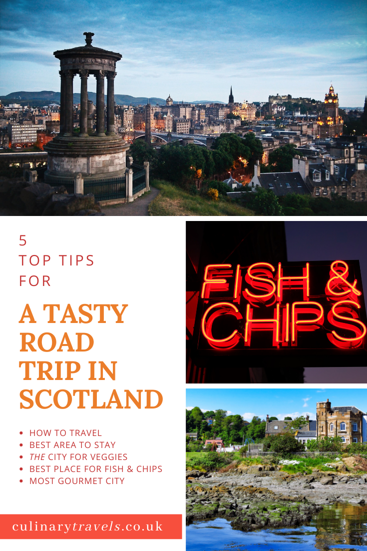 5 Tips For A Tasty Scottish Road Trip. Get in the car and go travelling.