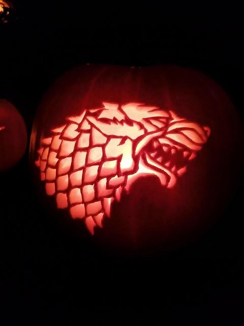 House stark pumpkin