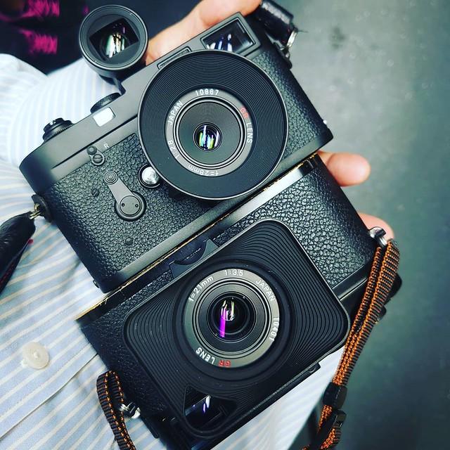 Leica 第二屆交換重曝 京港曰與夜
