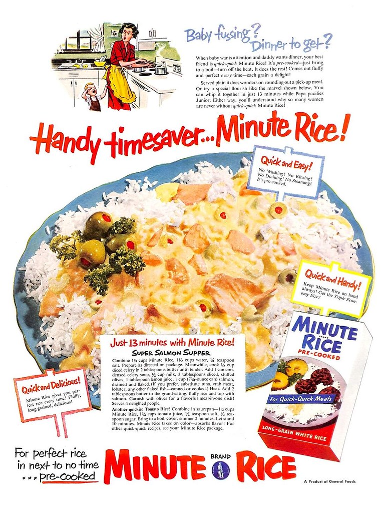 Minute Rice 1952