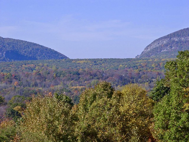 The Delaware Water Gap from Knowlton Township in New Jersey