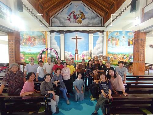 Niekoľkodňový outing s ľuďmi z rôznych farnosti v Hsinchu. Návšteva kostolov02
