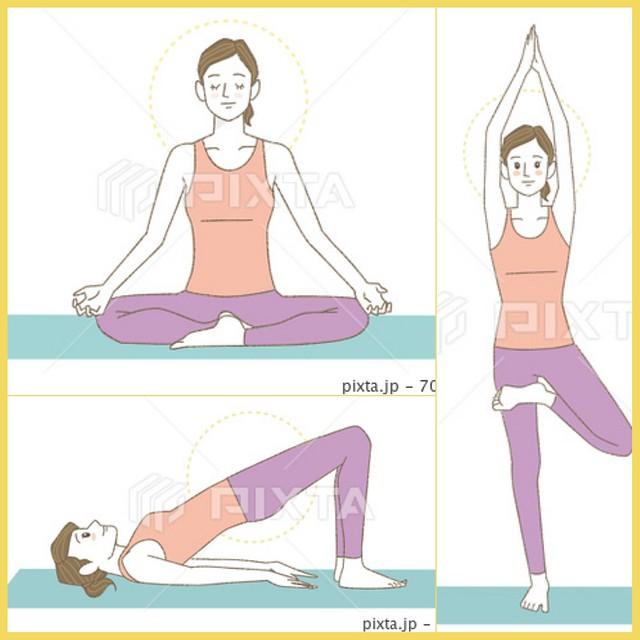 【✨〜yoga illustration〜✨】