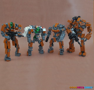 Mission To Mars - MECHTOBER Family | by Si-MOCs