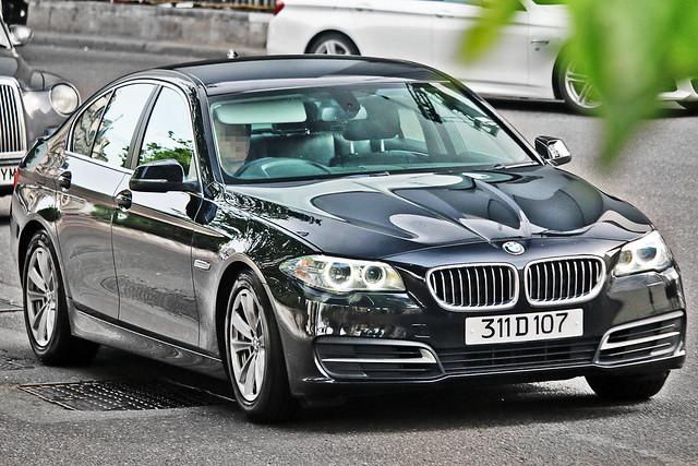 BMW 5-series F10 - 311 D 107 - North Macedonia Diplomat, United Kingdom