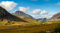 Tryfan and Ogwen Valley Snowdonia Wales