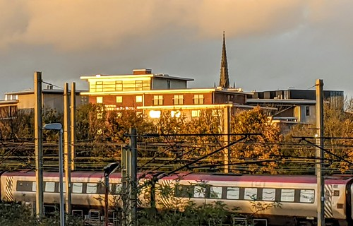 Golden sunset scenes at Preston | by Tony Worrall