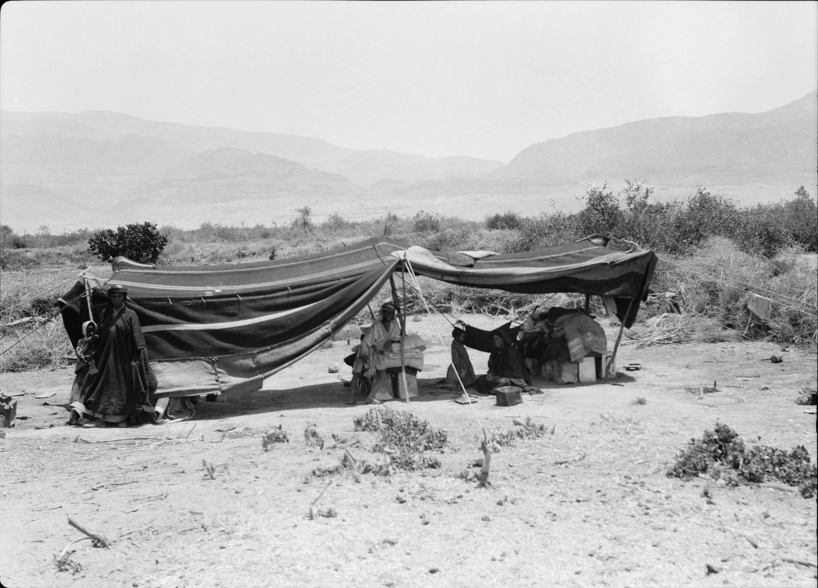 16. В Эс-Сафии, вид на восток через равнину в сторону предгорий Моава