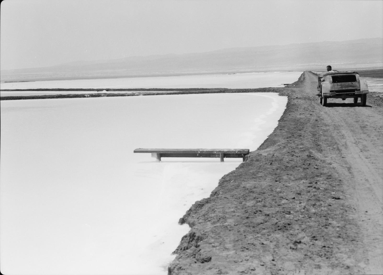 15. Недавно построенная шестикилометровая прямая дорога, ведущая на восток до гор Эс-Сафия