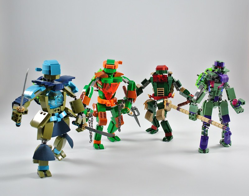 TMNT - Team Mecha Ninja Turtles