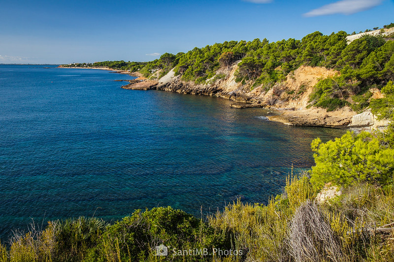 Costa del Perelló desde el Llom dels Matxos