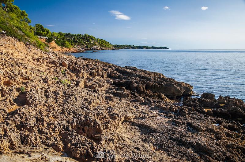 Zona de roca pasado El Molar