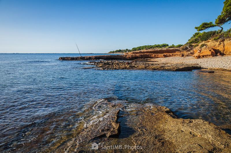 Costa de El Perelló desde la playa anexa a El Molar
