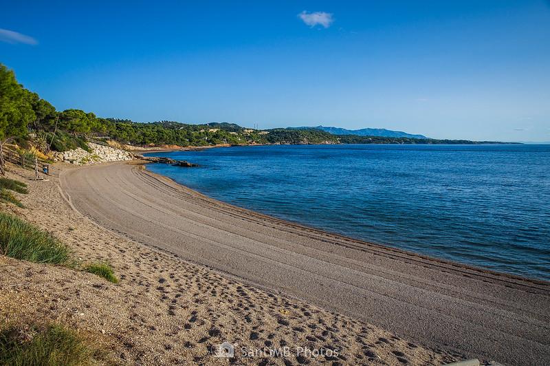 Playa de Santa Llúcia en El Perelló