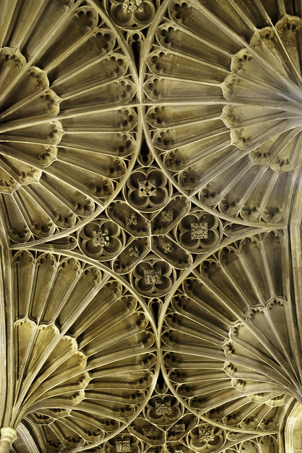 Ceiling Detail in St. John the Baptist Church in Cirencester - Cotswolds 7