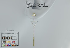~ ~ Ysoral ~~ .: Luxe Earrings Angelina :.