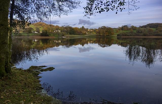 Esthwaite Water Cumbria.