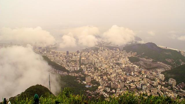 Rio de Janeiro from Corcovado Mountain, Brazil