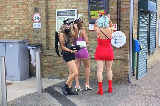 Halloween at Lowestoft