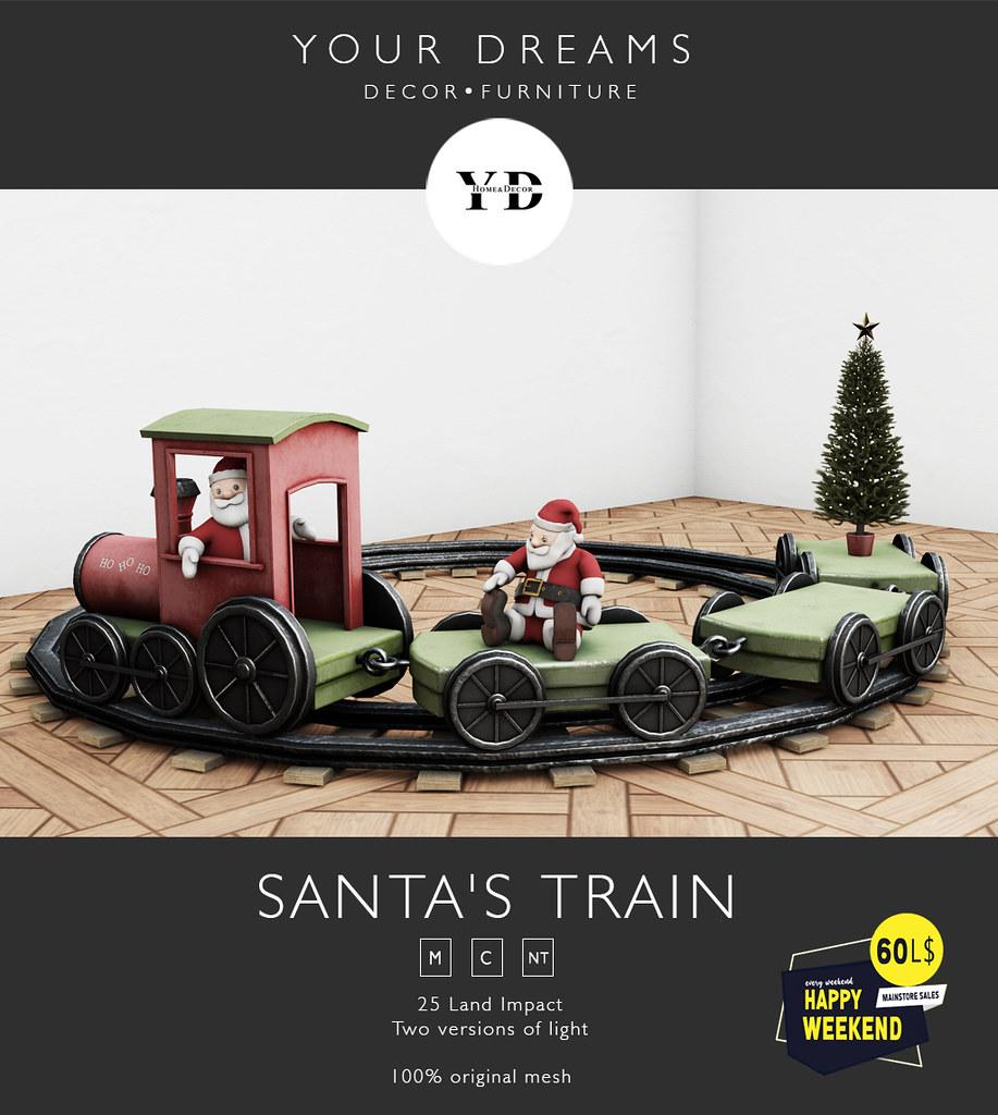 {YD} Santa's Train