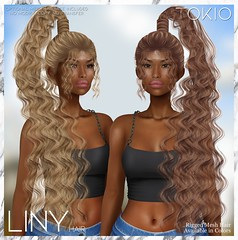 TOKIO Hair - LINY - Happy Weekend L$60 @Mainstore!!