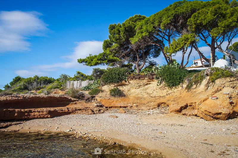Retomando el Camino de Ronda hacia la playa de Els Bufadors