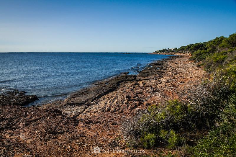 Playa de Els Bufadors