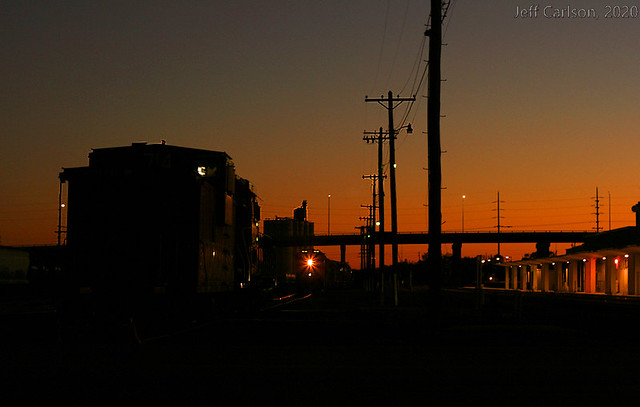 Four-Axle Sunset on the BNSF