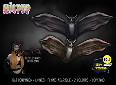 HILTED - Bat Companion